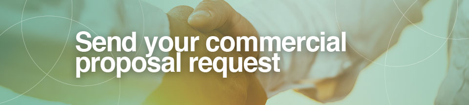 Send your commercial proposal request